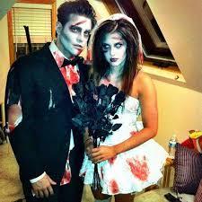 Zombie Bride Groom Halloween Costumes Glamorous Zombie Halloween Costume