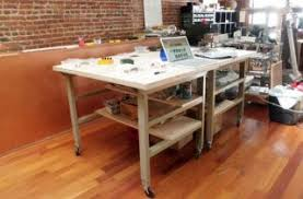 build a simple workbench for a spacious standing desk