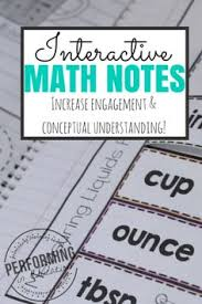 5th grade interactive math notebook these common core aligned