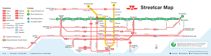 Toronto Subway Map How To Get Around Toronto With Subway U0026 Streetcars For Two Please