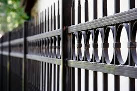 montage ornamental steel fencing residential industrial