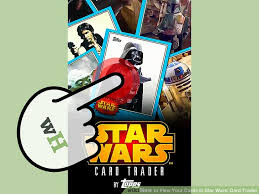 wars cards how to view your cards in wars card trader 11 steps