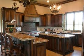 how do you stain kitchen cabinets stained kitchen cabinets with painted island affordable modern