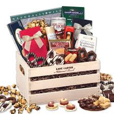 gourmet gift classic wooden crate gourmet gift aa gifts baskets