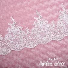wide lace ribbon aliexpress buy 3d flower lace trimming lace fabric lace