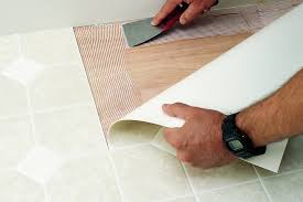 Installing Vinyl Sheet Flooring Vinyl Sheet Floor Installation