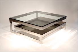 coffee table magnificent chrome coffee table industrial coffee