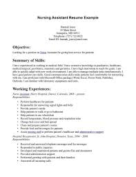 Job Resume Samples No Experience by Cna Resume Sample No Experience Resume For Your Job Application