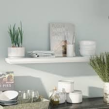 White Shelves For Bathroom - wall u0026 display shelves you u0027ll love wayfair