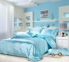 Quilted Duvet Cover King Light Blue Quilt Cover Light Blue King Quilt Set Light Blue Home