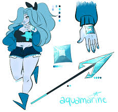 blue opal gemsona gemsona by meulin2dope on deviantart