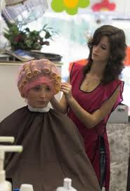 sissy boys hair dryers what a cute little adorable face under the rollers of course the