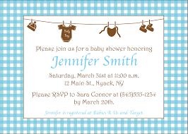 baby shower invitation exles gangcraft net