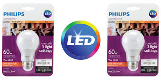 green deals 4 pack philips sceneswitch led lights bulbs 18 reg