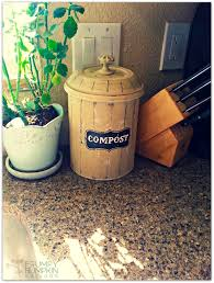 100 compost canister kitchen kitchen counter top compost