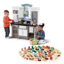 Pink Retro Kitchen Collection Children U0027s Play Kitchens Step2