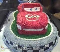 lightning mcqueen birthday cake coolest lightning mcqueen cakes