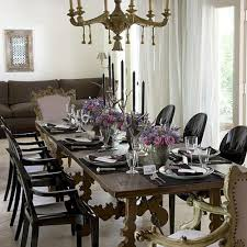 Neutral Dining Rooms 2017 Grasscloth Wallpaper Stylish Dining Room Decorating Ideas Southern Living