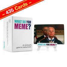 What Do You Meme - wholesale 435 cards what do you meme adult party game