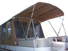 Pontoon Boat Design Ideas by Pontoon Boat Enclosures Home Covers Enclosures Bimini S Interior
