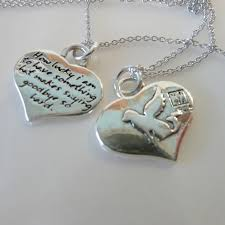 handmade angel necklace images Kevin n anna angel dog silver heart reversible pendant the JPG