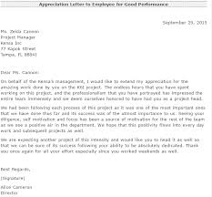 Certification Letter Of Accomplishment Appreciation Letter For Good Performance Writing Professional