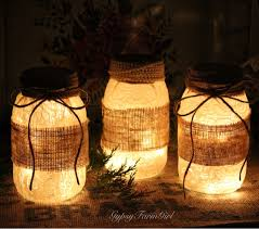 how to make mason jar lights with christmas lights gypsyfarmgirl mason jar and wine bottle lights