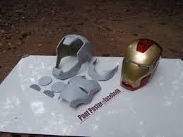 iron man helmet mark 7 raw cast replica scale 1 1 special