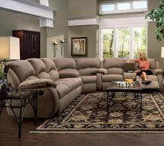 U Sectional Sofas by Living Room Light Brown Sectional Sofas With Recliners And