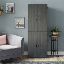 black kitchen pantry cupboard mainstays 7224335wcom kitchen pantry cabinet 4 door storage cupboard black