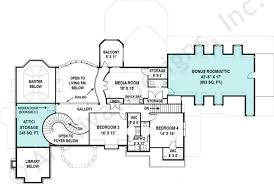 Media Room Plans - adelin french country house plan luxury house plan