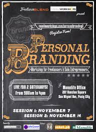 new workshop u201cpersonal branding workshop for freelancers and
