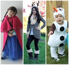 make it cozee frozen family costumes