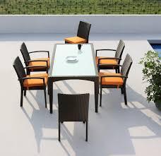 Design Ideas For Black Wicker Outdoor Furniture Concept Bamboo Patioiturec2a0 Outdooriturebambooiture Setsbamboo For