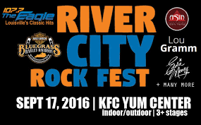 Bud Light River City Rockfest 107 7 The Eagle River City Rock Fest Kfc Yum Center