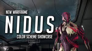 nidus color scheme showcase warframe fashionframe youtube