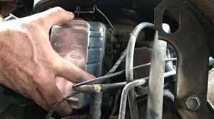 changing diesel fuel filter 1988 gmc 6 2 diesel van youtube