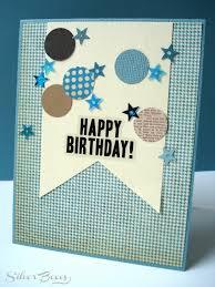 silver boxes confetti birthday cards