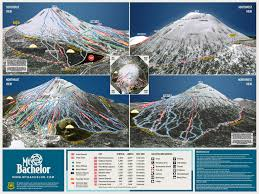 Montana Road Report Map by Snocountry Snow Reports Oregon Mt Bachelor