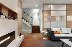 Wooden Interior Wooden Volume Creatively Defines Layout In Toronto Home