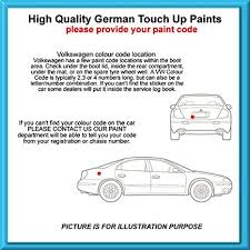 volkswagen high quality german car touch up paint 30ml b7w