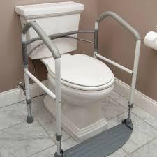 Bathtub Handrails Handicapped Handicap Portable Toilet Rail Folding Elderly Surround Support Aid