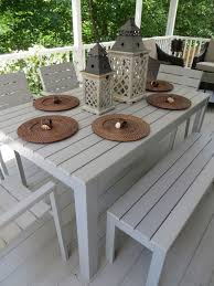 Patio Dining Table Best 25 Outdoor Dining Set Ideas On Pinterest Outdoor Farm