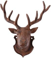 home design stag head 3 1000x1000 within deer wall mount 85
