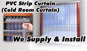 room cold room plastic curtains home design wonderfull