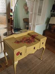Shabby Chic Painting Techniques by 50 Best Painted Shabby Chic Decoupage Dressing Tables Images On