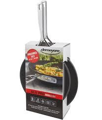 demeyere cuisine demeyere 13608 alu pro anti sticking frying pan 24cm 28cm demeyere