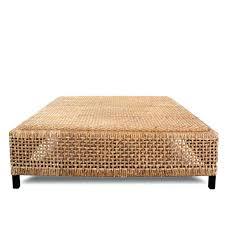 round wicker end table indoor wicker coffee table round evaero co