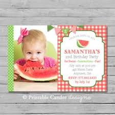watermelon birthday invitations birthdays birthday invitations