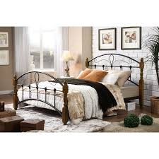 Platform Bed Ebay - bed frame cast iron bed ebay in vintage metal bed frame queen
